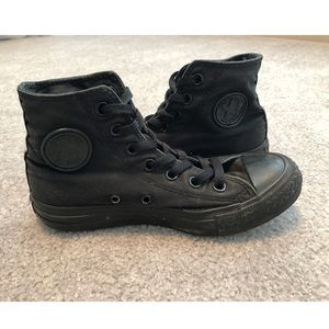 Black Monochrome Chuck Taylor All Star High Top